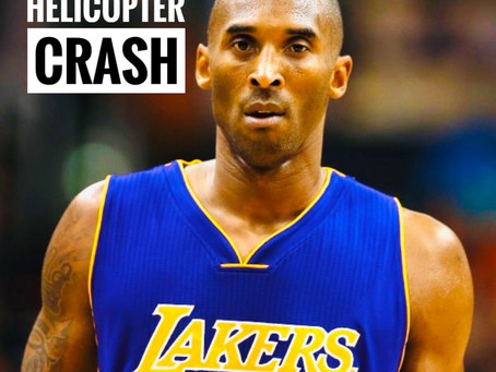 Legendary Sports Icon Kobe Bryant Died in Helicopter crash in USA
