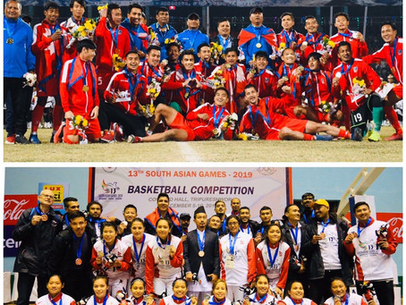 Shine Nepal shine: Nepal's 2nd place win in 13th South Asian Games