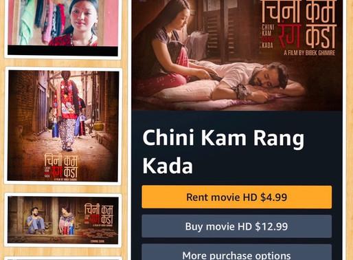 नेपाली अमेरिकन डाईरेक्टरको चलचित्र 'चिनी कम रंग कडा' को अमाजोन प्राईममा अमेरिका र बेलायतमा प्रदर्शन