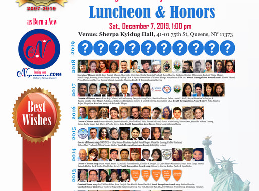 Who will be 101 Honorees?