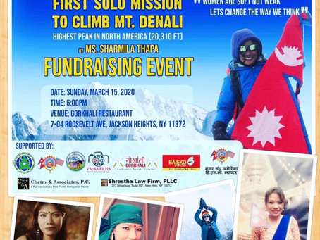 First Nepali Woman to ascend Mt. Denali, highest peak in N. America, let's help achieved her dream
