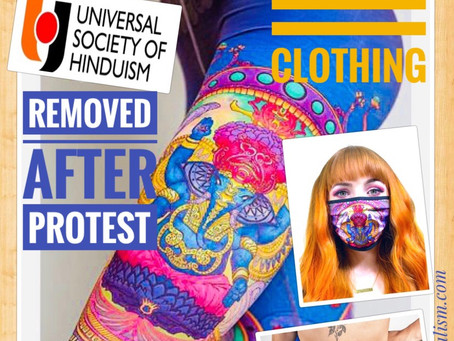 "American clothing firm removes Goddess Kali ""Booty Shorts"" after protest from Hindu protest"