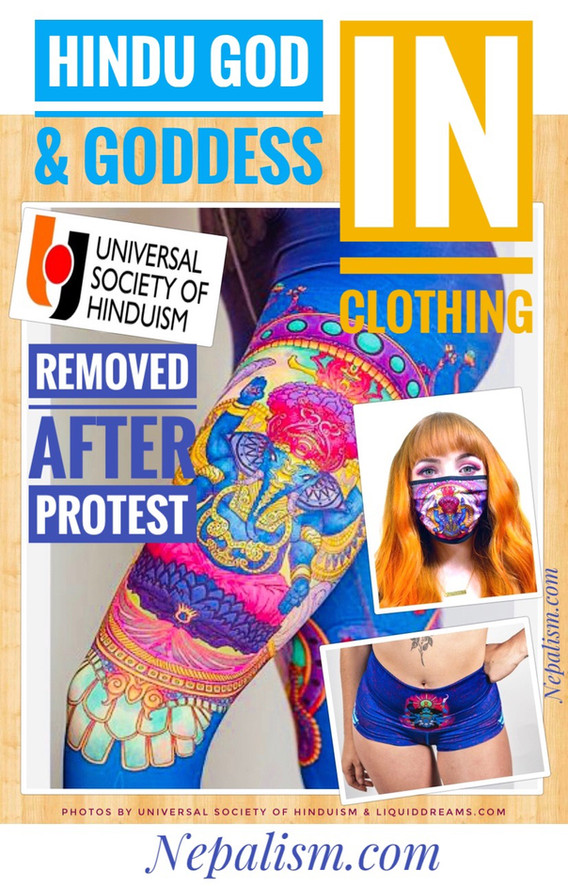 """American clothing firm removes Goddess Kali """"Booty Shorts"""" after protest from Hindu protest"""