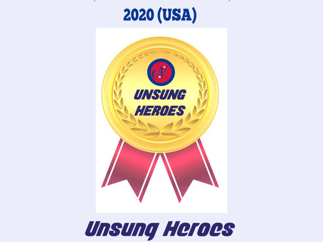 ChangeMakers 2020 (USA): UNSUNG Heroes: We salute to them !