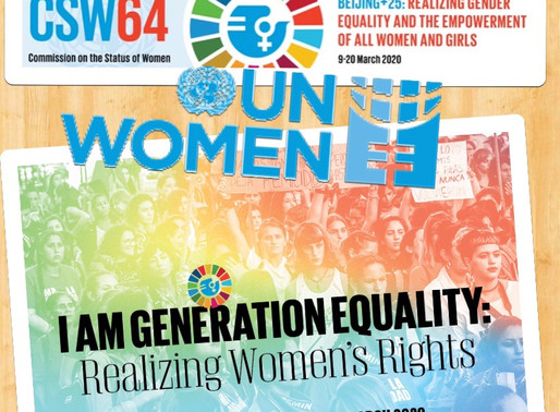 UN CSW64 Session and NGO CSW NY's 500+ event forums are cancelled due to Coronavirus