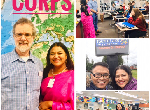 A moment to reckon after 29 years: Dr. Bishnu Maya Pariyar met with her Peace Corps teacher