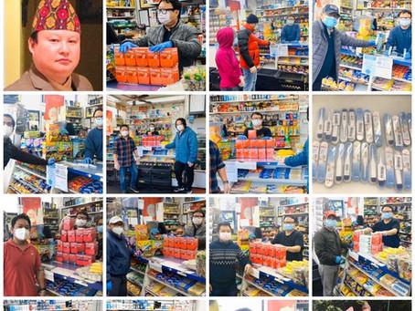कोरोना महामारीमा करूणा देखाउने न्यू योर्कका एक उदाहरणीय नेपाली छोरो