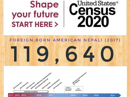 अमेरिकी जनगणना २०२० मा नेपाली किन छुट्नु हुँदैन? अनलाईन फर्म कसरी, कहाँ भर्ने?
