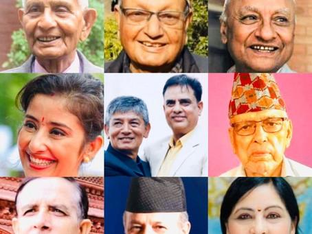 राष्ट्रिय र अन्तर्राष्ट्रिय क्षेत्रका १० व्यक्तित्वहरूलाई नइ पुरस्कारको घोषणा