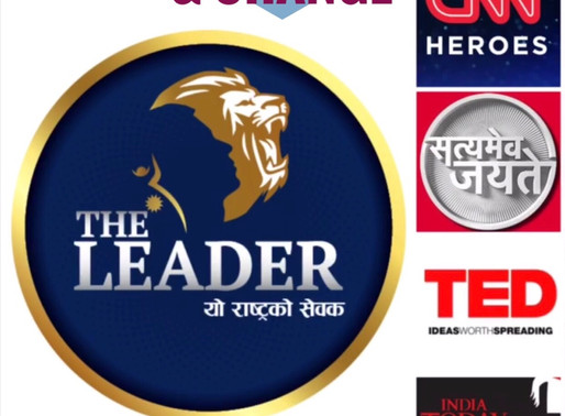 'The Leader', CNN Heroes, TED Talk or Satyamev Jayate: Media impacts on Positive Change