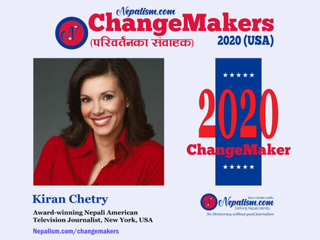 ChangeMakers 2020: Kiran Chetry, Award-winning Nepali American journalist