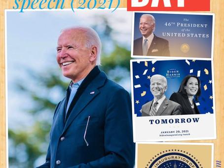 Transcript of U.S. President  Joe Biden's presidential inauguration speech (2021)