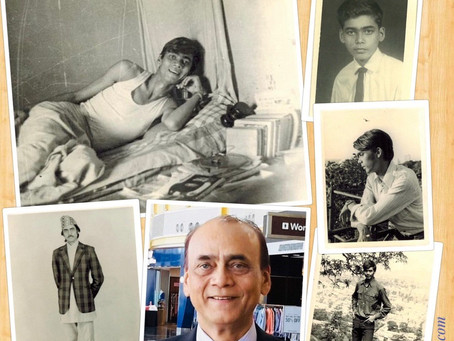 Once upon a Time: A Professor with his Least Possessions