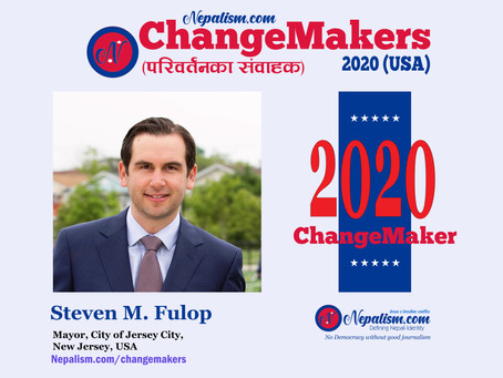 ChangeMakers 2020: Mayor Steven M. Fulop, City of Jersey City, NJ, USA