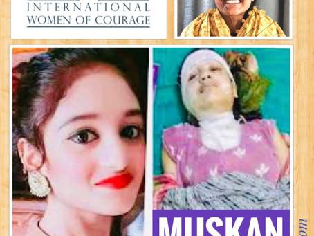 नेपाली साहसी छोरी मुस्कान खातुन अमेरिकी सरकारको 'अन्तर्राष्ट्रिय साहसी महिला' पुरस्कारबाट सम्मानित