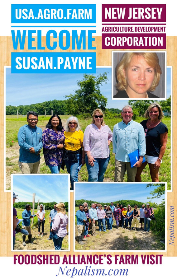 USA Agro Farm welcome Susan Payne, ED of New Jersey State Agriculture Development Corporation