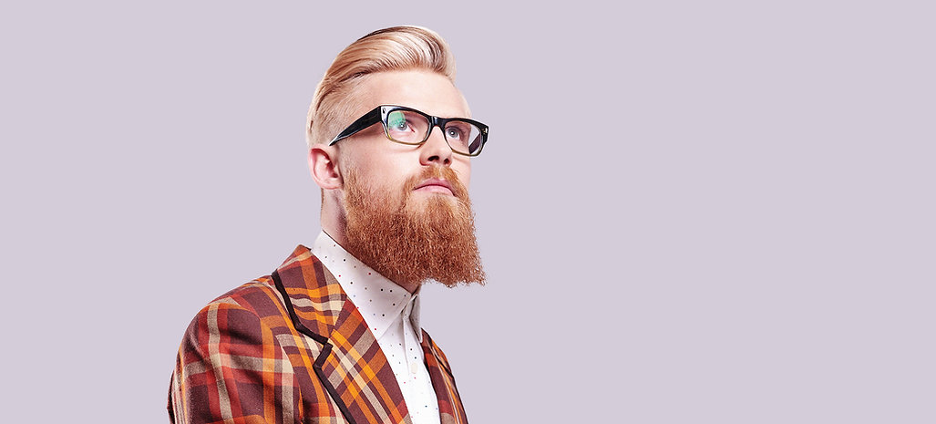 Men's haircut fade