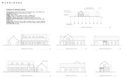 Elevations & Site Section