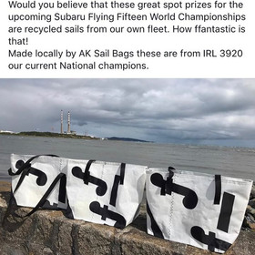 Flying 15 Worlds prizes