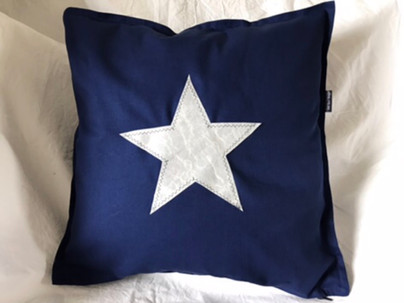 NEW - blue star Cushion