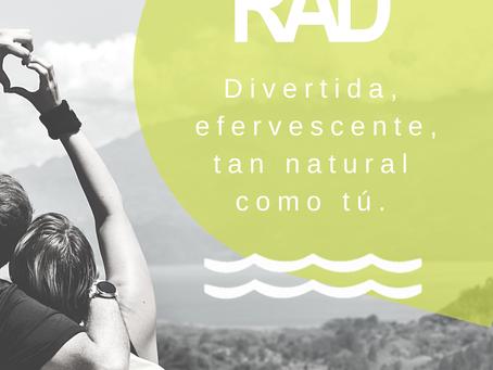 RAD es el mejor Hard Seltzer del mercado.