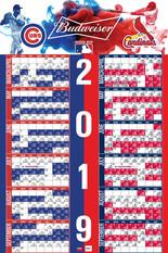Cubs/Cardinals 2019 Budweiser Schedule