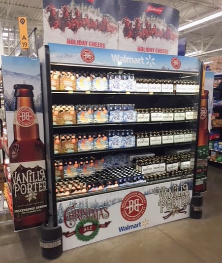 Walmart Winter Beer cooler wrap