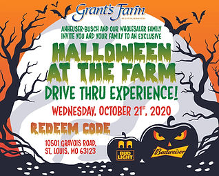 GRANTS FARM HALLOWEEN