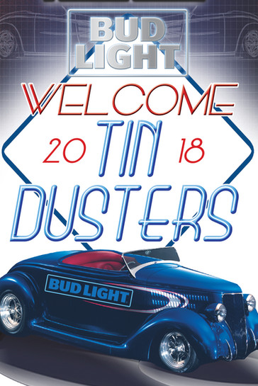 Tin Dusters Quincy Event Poster