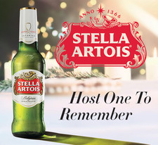 Stella Atois Holiday Custom Clearview