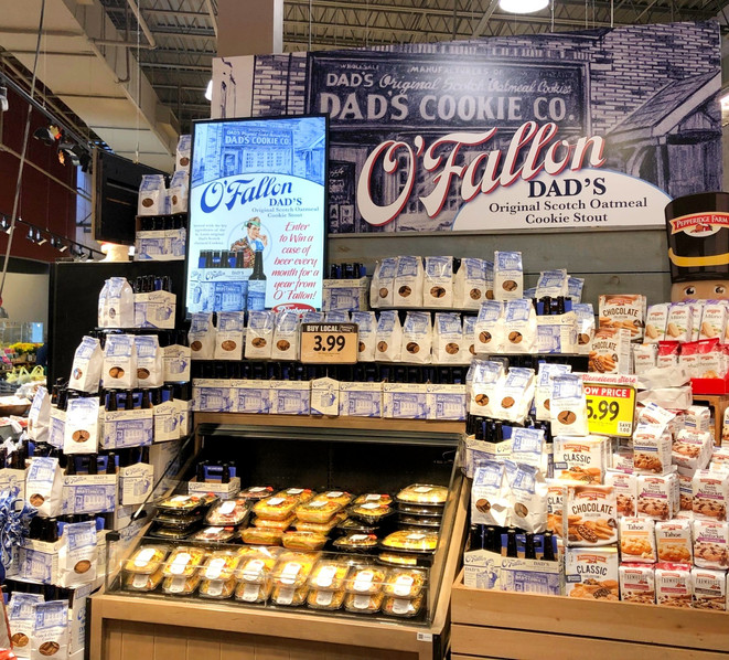 Dierberg's O'Fallon Brewing & Dad's Cookies program