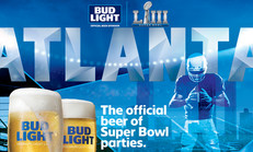 Buffalo Wild Wings Super Bowl Banner