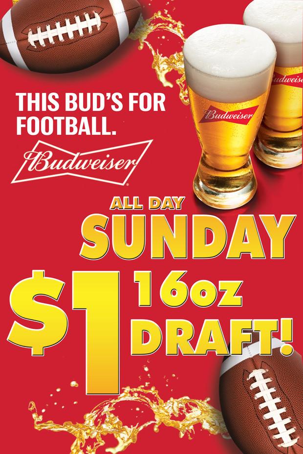 Budweiser Football Specials