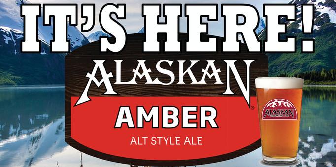 Chick's Alaskan Amber Signage