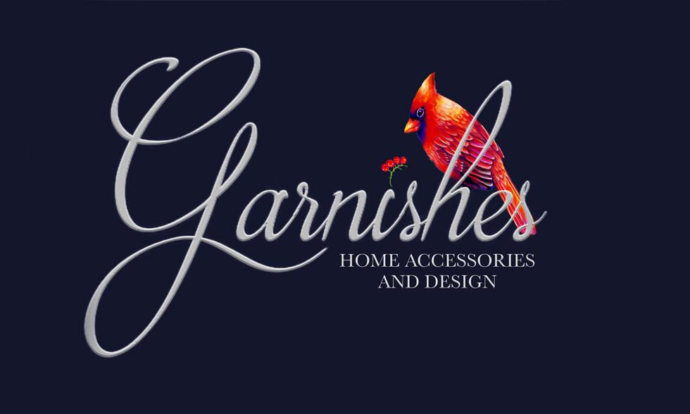 Logo for Garnishes LLC, Morehead City, NC