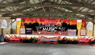 Riverbank Bar & Grill Stage Design