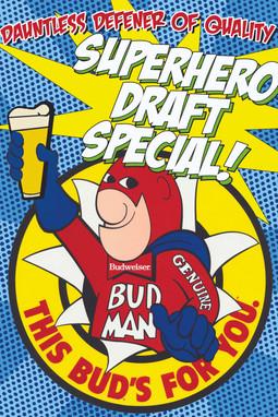 Custom Bud Man Bar Special Promo
