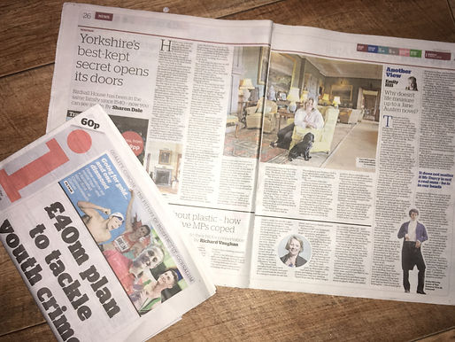 Press coverage for Yorkshire business