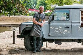 Callum Houston with The Yorkshire Explor