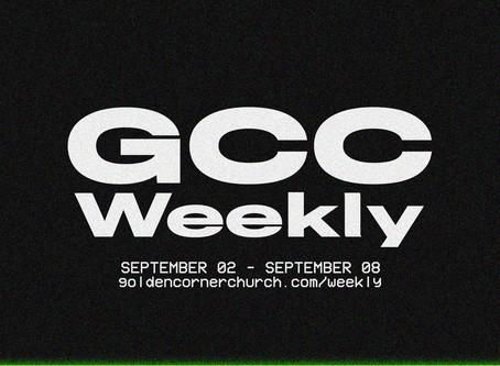 GCC Weekly: 09|02 - 09|08