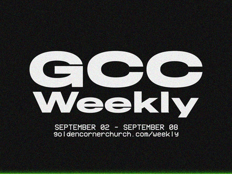 GCC Weekly: 09 02 - 09 08