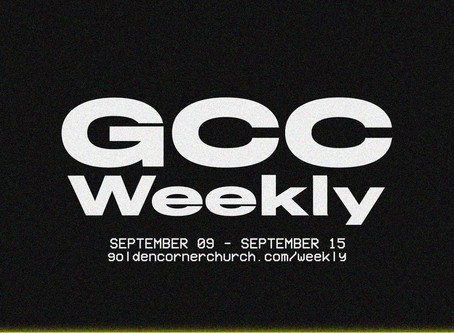 GCC Weekly: 09|09 - 09|15