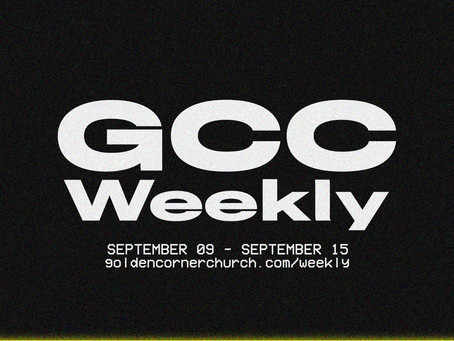 GCC Weekly: 09 09 - 09 15