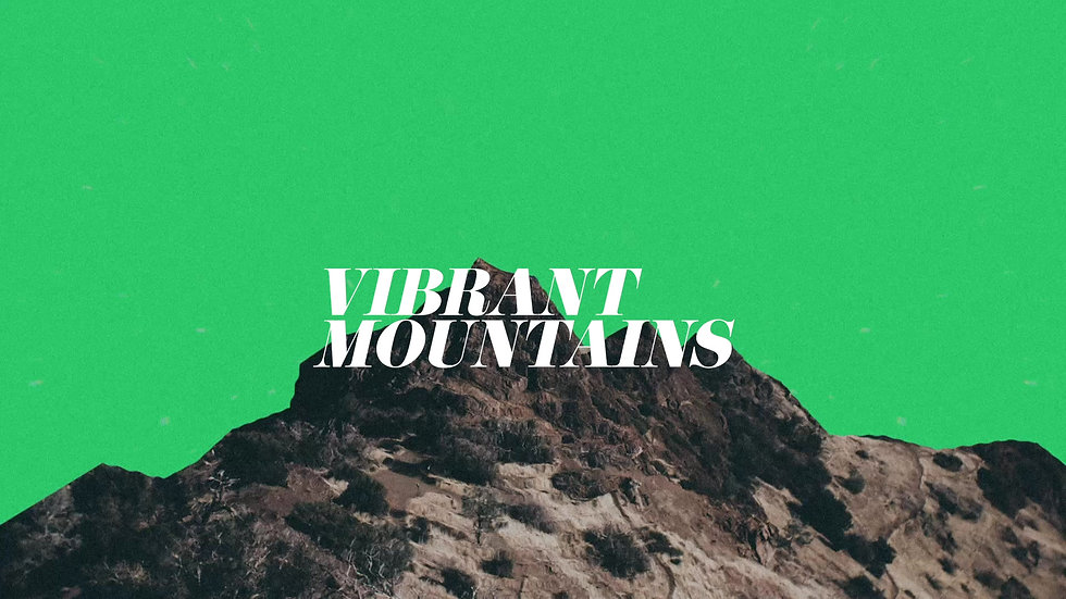 Vibrant Mountains