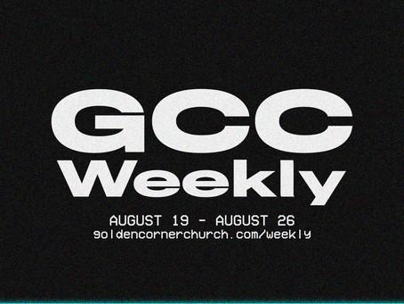 GCC Weekly: 08 19 - 08 26