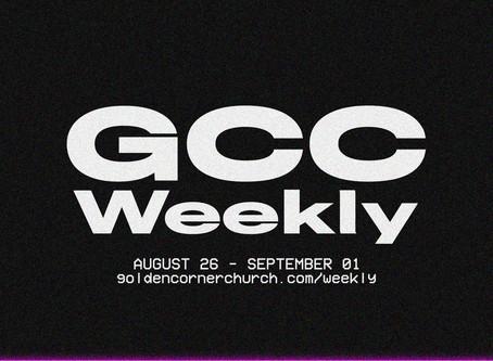 GCC Weekly: 08|26 - 09|01