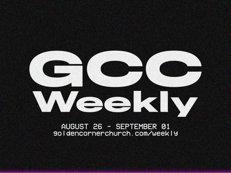 GCC Weekly: 08 26 - 09 01
