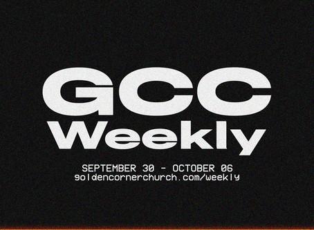 GCC Weekly: 09|30 - 10|06