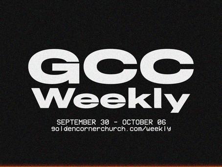 GCC Weekly: 09 30 - 10 06