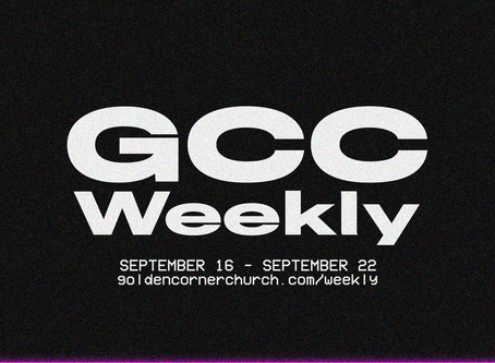 GCC Weekly: 09|16 - 09|22